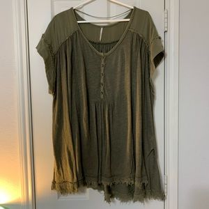 free people tunic blouse